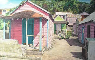 Click picture for a larger view, Eddie Minnis, Pink Houses on Rent II
